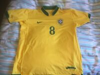 Kaka Brazil home shirt