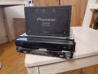 "Car stereo Pioneer X1BT dvd 7"" sat nav bluetooth"