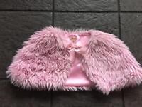 Pink monsoon bolero age 3-4