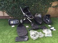 Quinny Buzz 3 pushchair with car seat