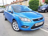 2010 FORD FOCUS 1.6 AUTO ZETEC 5DR,17000 MILES ONLY,NEW MOT AND SERVICE DONE,BARGAIN.