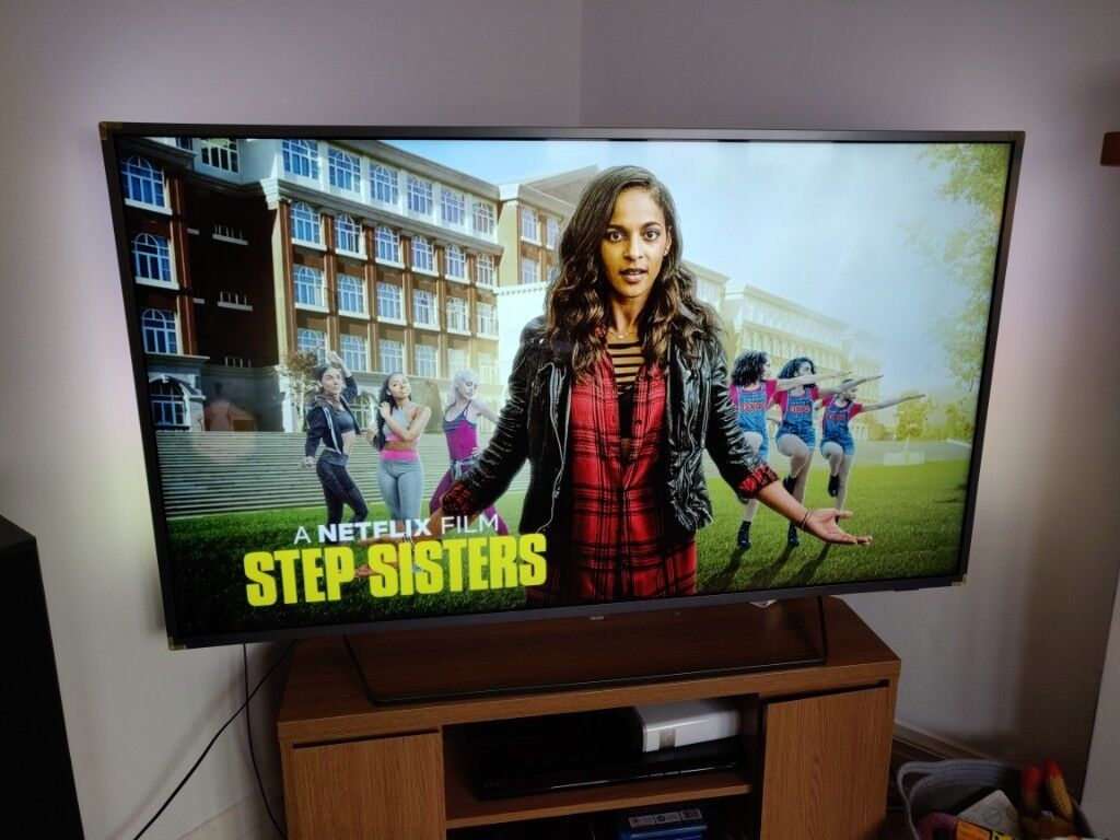 Philips 55 inch Ultra HD 4k Android Smart TV with HDR and Ambilight | in  Kelvindale, Glasgow | Gumtree