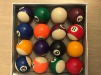 Little pool balls