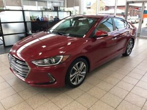 2017 Hyundai Elantra LIMITED ULTIMATE CUIR GPS BLUETOOTH ET BIEN
