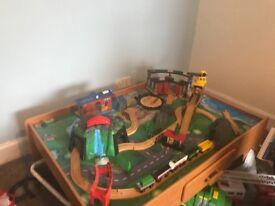 Children's table top train set