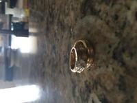 1.16 cts engagement ring with matching wedding bands
