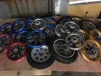JOB LOT OF NEW PITBIKE AND MONKEYBIKE PARTS