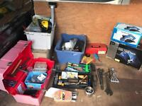 Job lot of tools hand and power