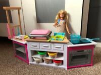 Barbie ultimate playdoh kitchen
