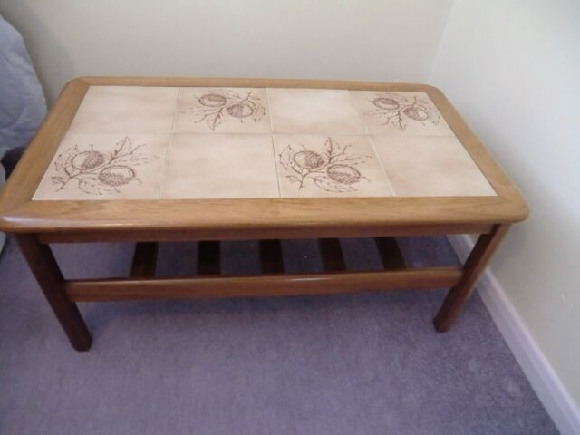 Super Quality Solid Wood Tiled Top Coffee Occasional Table In Kings Lynn Norfolk Gumtree Machost Co Dining Chair Design Ideas Machostcouk