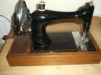 Hand operated vintage Singer Sewing Machine