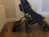 Maclaren buggy with buggy board