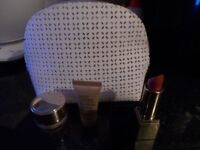 New and unused Estee Lauder make-up bag and contents