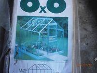 6x6 glass greenhouse