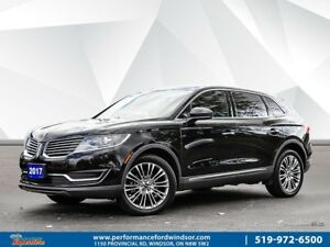 2017 Lincoln MKX Reserve ***heated rear seats, NAV, AWD***
