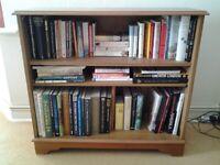 Wood & Wood Veneer Bookcase