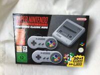 Snes Mini Console Nintendo- brand new in box.