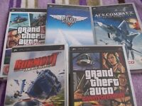 PSP 3 games