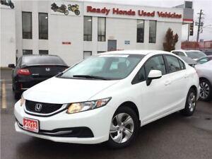 2013 Honda Civic LX  |  2.99% Financing
