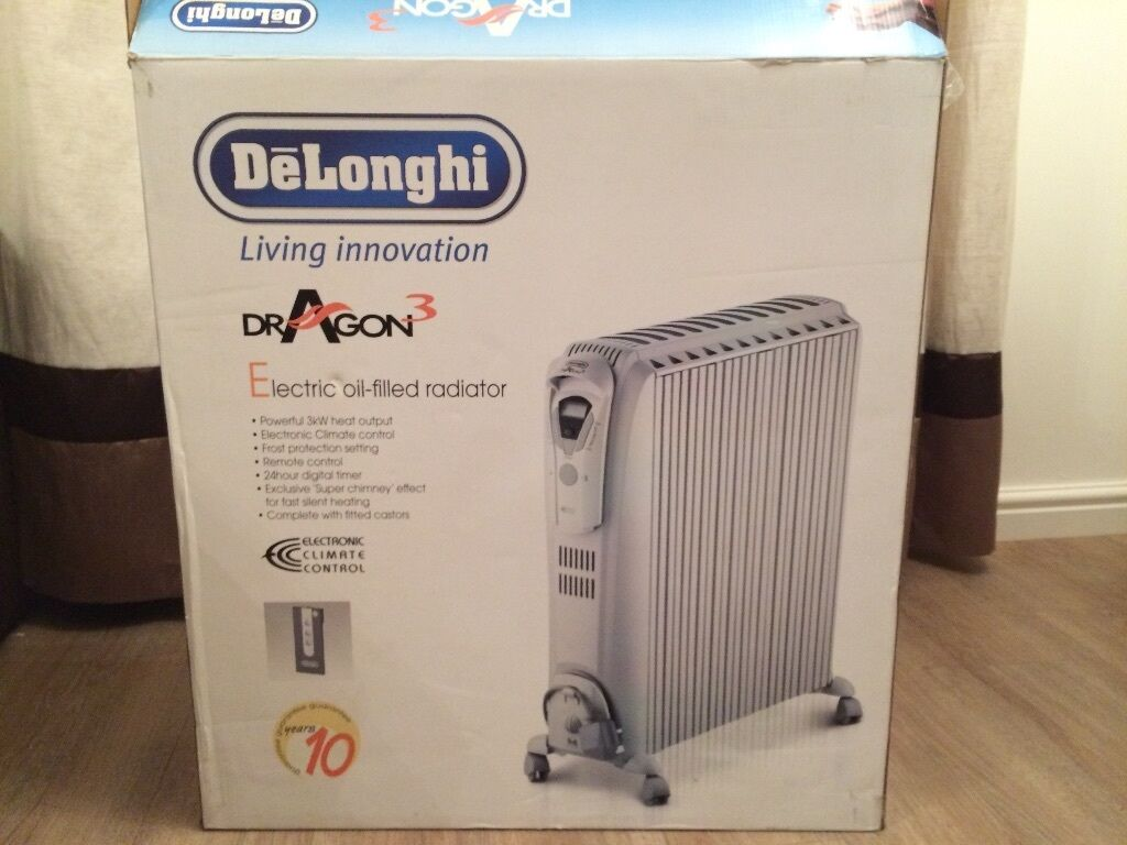 delonghi dragon electronic climate control manual