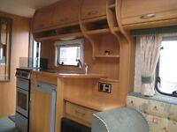 Caravan Swift Celeste 4 berth for sale ready to go, End Bathroom