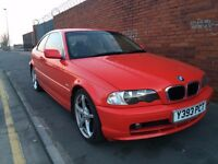 BMW 320 CI 2.2 coupe MOT 22/12/2016 LPG with full sports exhaust and K&N filter