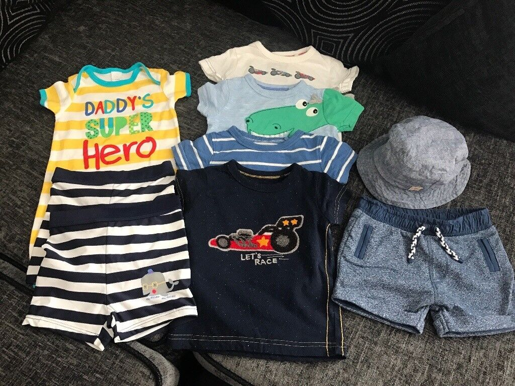 d906a8b46 Baby Boys Summer Clothes Bundle 3-6 Months | in Radcliffe-on-Trent ...