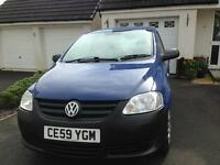 VW FOX 2009 LOW INSURANCE AND RUNNING COSTS