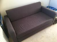 IKEA Grey Double Sofa Bed