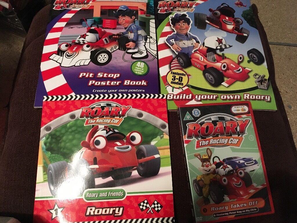 Roary the racing car set