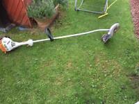 Petrol garden trimmer
