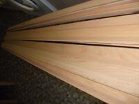 8 x 8 foot lengths of Beech Floor Edging (not MDF)