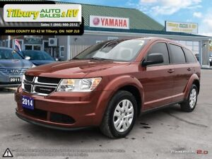 2014 Dodge Journey Canada Value Pkg. *Bluetooth. Touch Screen*