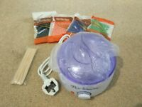 Brand new Wax Heater, Electric Wax Warmer Hair Removal Kit with 14 oz Hard Wax Beans and Waxing