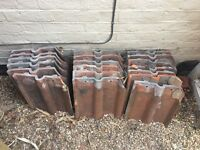 Clay roof tiles for collection