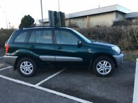 Toyota Rav4 2.0 vvt-i GX 5dr 4x4 2 Owners from new with only 80,000 miles