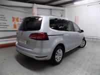 Volkswagen Sharan SE NAV TSI BLUEMOTION TECHNOLOGY DSG (silver) 2017-09-25