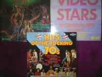 1970s & 80s Vinyl LP Records