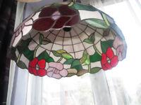 Tiffany style ceiling light, large Tiffany style ceiling light