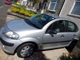 CITROEN C3 HDI LX DIESEL CAR 2004 54 PLATE MOT SEPT 2017 JUST £30 ROAD TAX SILVER 5 DOOR HATCHBACK