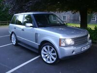 """LAND ROVER RANGE ROVER TD6 VOUGE - 22"""" ALLOYS - mercedes ml audi q7 bmw x5 discovery sport vw"""