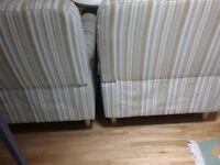 Recliner armchairs (2)