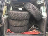Land Rover Discovery 2 Off Road Tyres