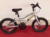 MX16 Silver Ridgeback Bike