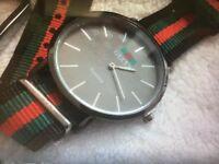 Gucci watch & key ring