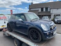 BREAKING 2006 R53 Mini Cooper S Checkmate - Mini Parts