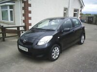 TOYOTA YARIS TR VVT-I, 5DOOR HATCHBACK, GOOD CONDITION, MOT TO JUNE 2019. ONLY £30 A YEAR ROAD TAX