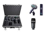 AKG Rhythm Professional Drum And Instrument Microphone Set