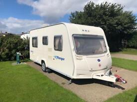 Bailey Ranger 4 Berth Caravan Fixed Bed / Motor Mover