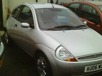 ford ka, 2006 reg, 45,000 miles only, new mot, full history, first to see will buy